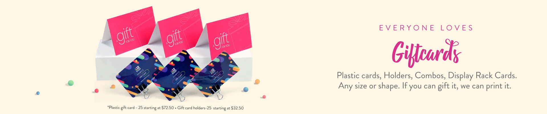 Gift Cards Banner