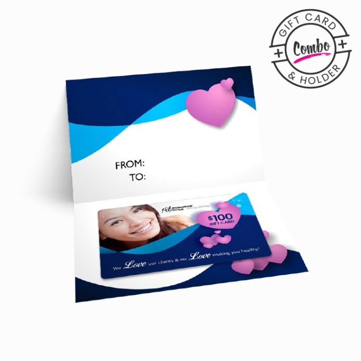 Plastic Gift Card Photo