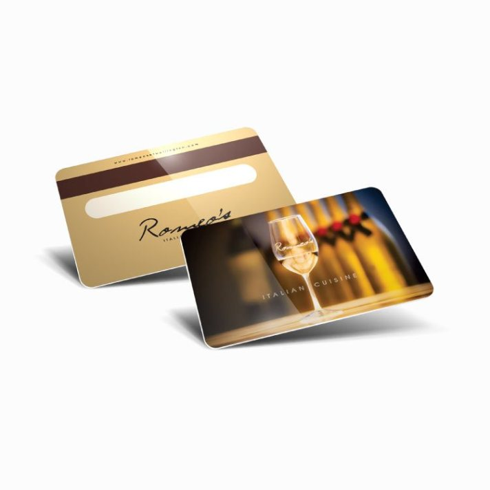 Plastic Credit Card Size Photo