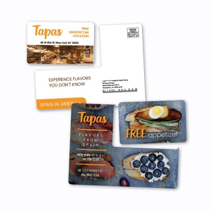 Plastic Card Mailer Photo