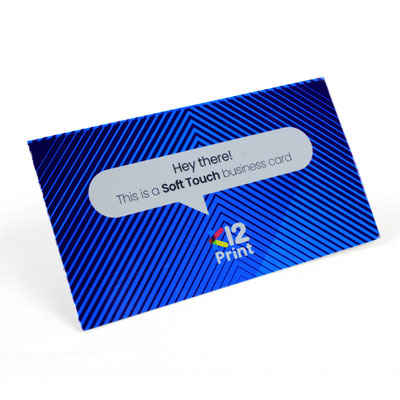 Soft Touch Business Cards Photo