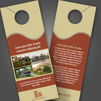 Door Hangers Single Side