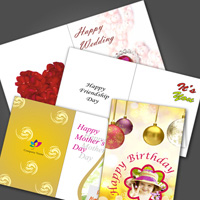 Personalized Greeting Cards Photo