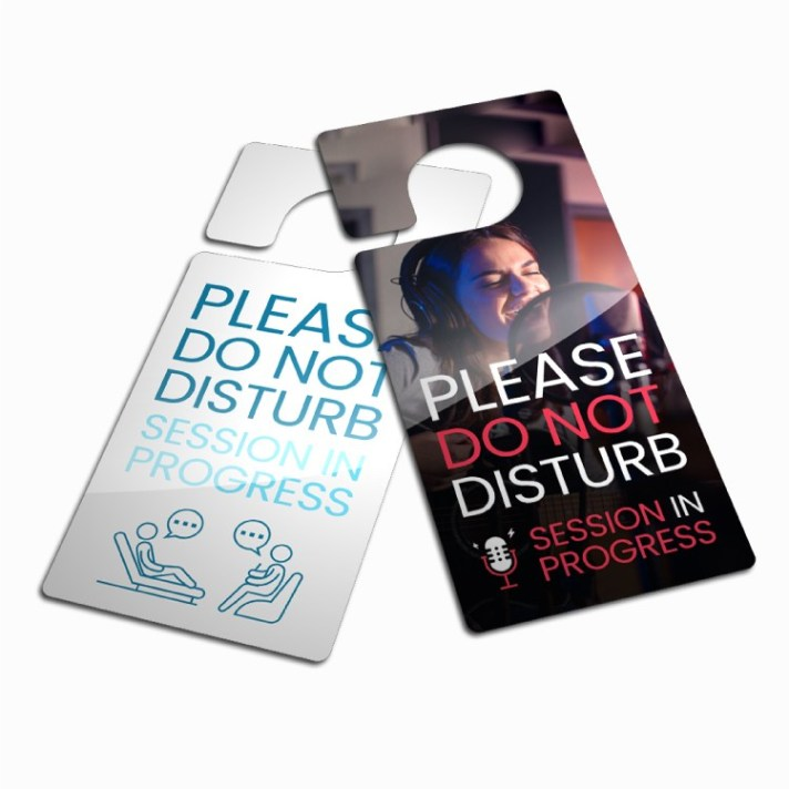 Plastic Door Hanger Photo